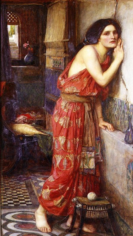 Image 6: John William Waterhouse, Thisbe (1909), oil on canvas, 58.5cm x 96.5cm.