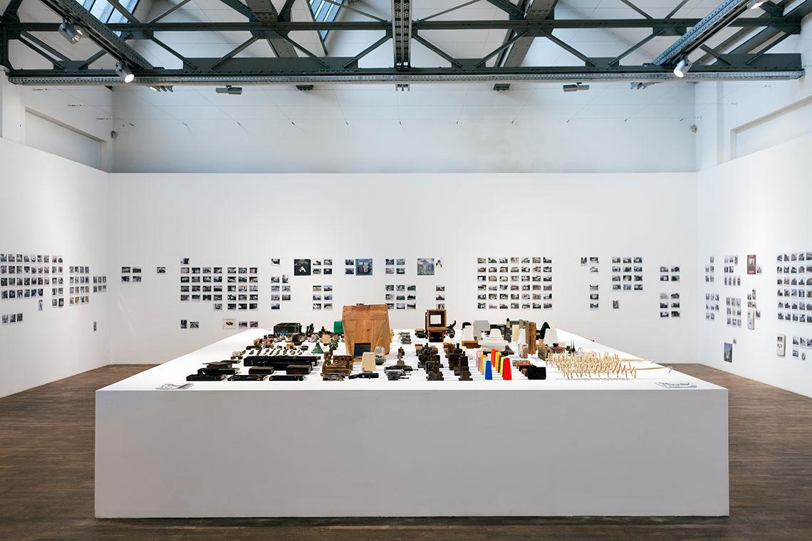 """Fig. 2: AFF Architekten, """"In Love, To:"""", exhibition in the DAZ (Deutsches Architektur Zentrum Berlin), January 2011."""
