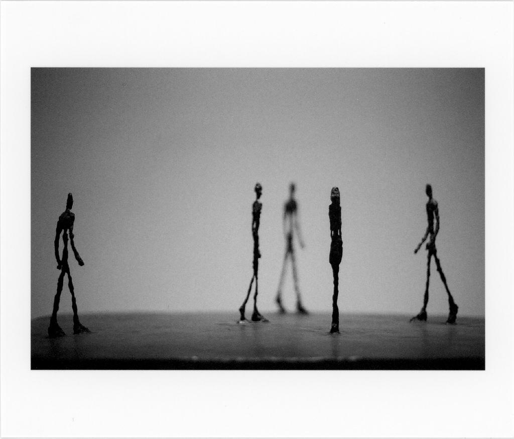Alberto Giacometti: Piazza (1947/48)