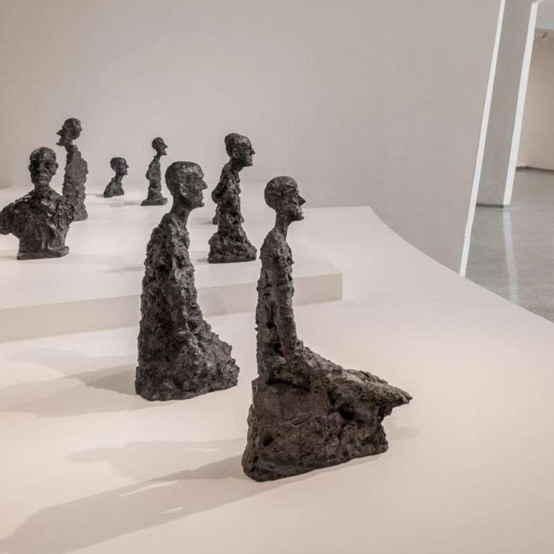 Alberto Giacometti: div. (Solomon R. Guggenheim Museum)