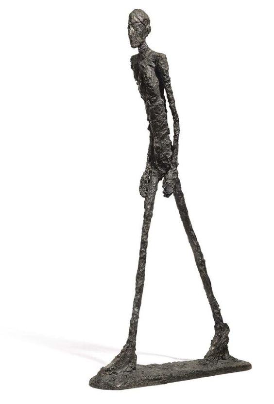 Alberto Giacometti: Walking Man (1961)