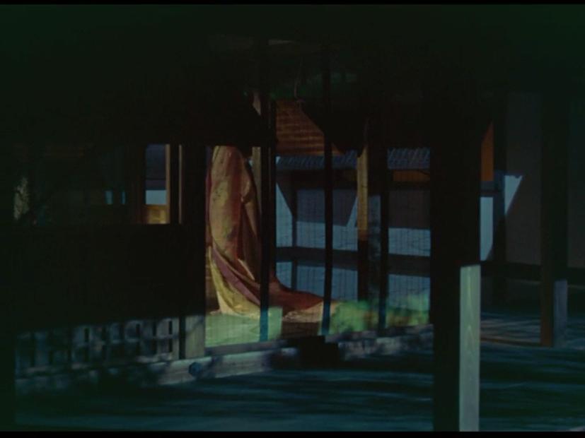 Clip 3: Expressive movement in 地獄門 [JIGOKUMON; GATE OF HELL] (Teinosuke Kinugasa, JP 1953), scene 45, 01:06:29:04 to 01:08:02:12.