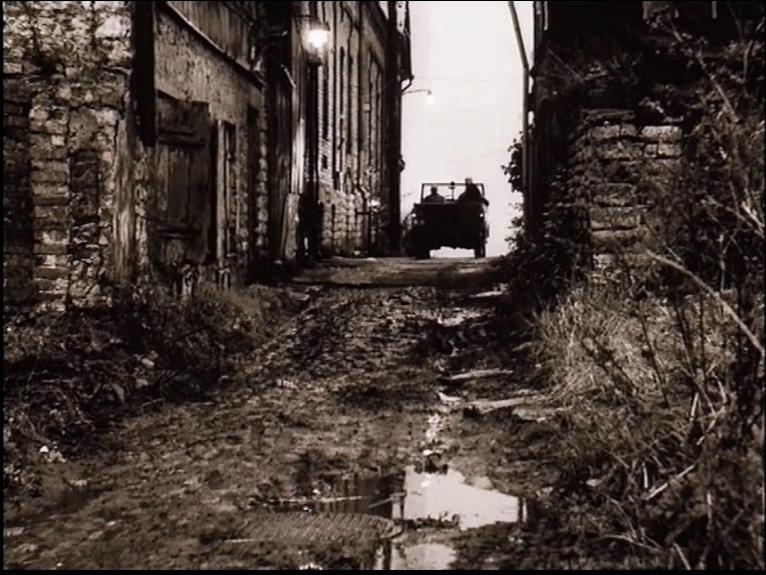 Figure 13: Textures convey haptic qualities of touch. STALKER (Andrei Tarkovsky, SU 1979). DVD screenshot.