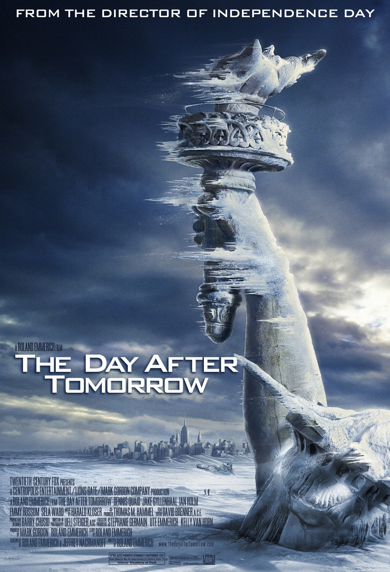 Abb. 24: Poster zu THE DAY AFTER TOMORROW