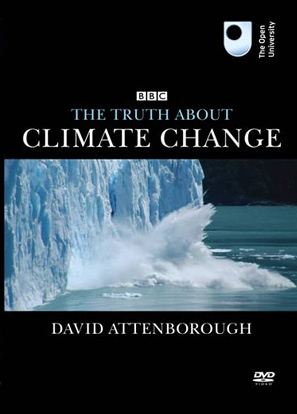 """Abb. 27: DVD-Cover der BBC-Dokumentation """"The Truth about Climate Change"""""""